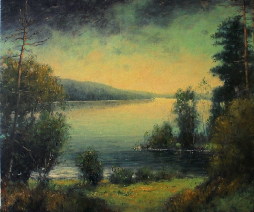 """Otsego Twilight"" by Robert J. Schneider"