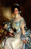 Sargent painting: Mrs. A. Lawrence Rotch, 1903
