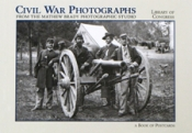 Civil War Photographs Postcard Book
