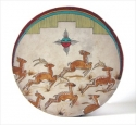 Native American Drum: Deer on the Run