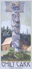 Emily Carr Four Totems Boxed Notecards