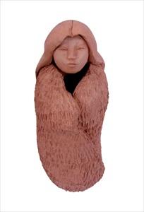 Buffalo Robe- Handmade sculpture by Diane Shenandoah