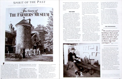 Heritage Magazine: The Farmers' Museum Golden Anniversary 1943-1993
