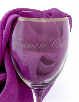 Fenimore Art Museum Wine Glass