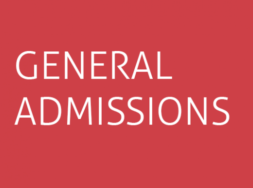 General Admissions