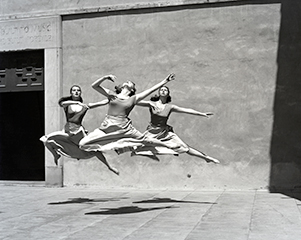 three-dancers-mills-college-1930