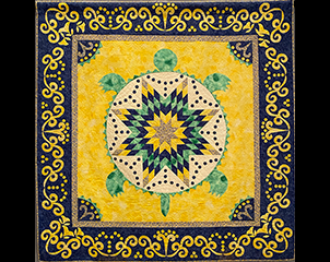 New Textiles: The 12th Contemporary Iroquois Art Biennial