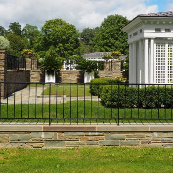 Formal Gardens behind Fenimore House