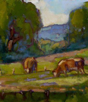 hillside-grazing