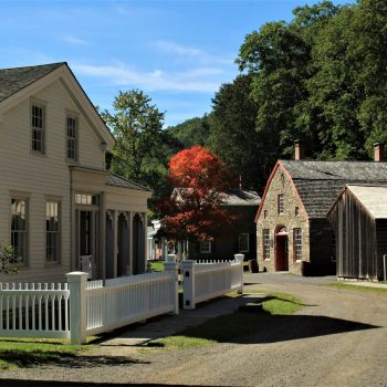 A Beautiful Day in the Farmers Museum Village