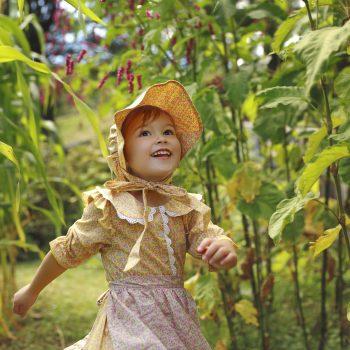 The child who played in Lippitt garden