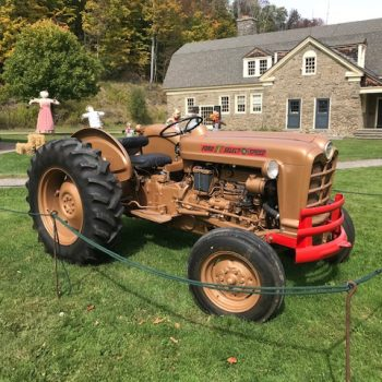 Old Ford 801 Tractor Ready for Halloween