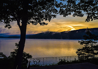 Sunrise on Glimmerglass Photography Excursion