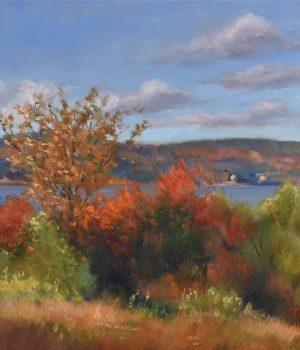 Owasco Lake, autumn